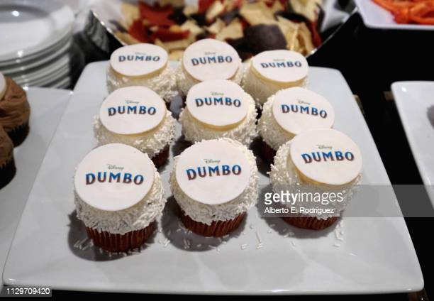 A view of the atmosphere during the 'Dumbo' Global Press Conference at The Beverly Hilton Hotel on March 10 2019 in Los Angeles California