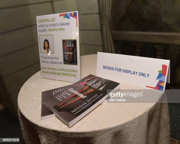 A view of the atmosphere during the National Eating Disorders Association Annual Gala 2018 at The Pierre Hotel on May 16 2018 in New York City