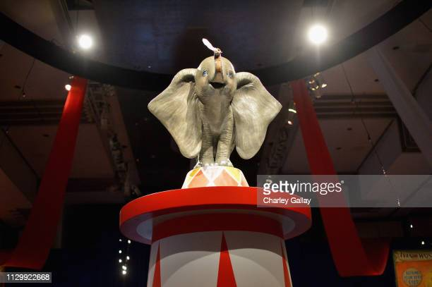 A view of the atmosphere during the World Premiere of Disney's Dumbo at the El Capitan Theatre on March 11 2019 in Los Angeles California