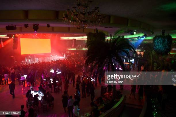 A view of the atmosphere is seen as Fashion Nova Presents Party With Cardi at Hollywood Palladium on May 8 2019 in Los Angeles California