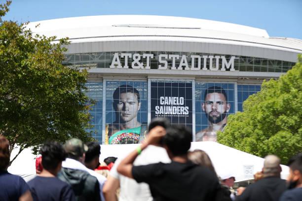 TX: Canelo Alvarez v Billy Joe Saunders - Weigh In