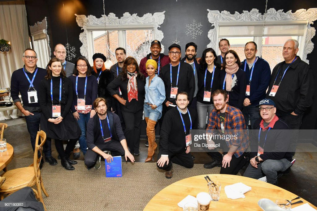A view of the attendees at the Feature Film Jury Orientation Breakfast during the 2018 Sundance Film Festival at Cafe Terigo on January 19, 2018 in Park City, Utah.