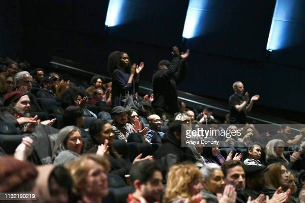 """View of the audience at Film Independent Presents HBO Screening Series: """"Tales From The Tour Bus"""" at ArcLight Hollywood on February 25, 2019 in..."""