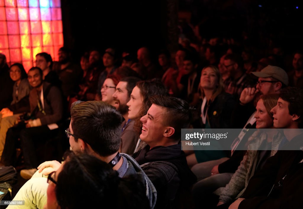 A view of the audience at HarmonQuest during 2017 SXSW Conference and Festivals at Esther's Follies on March 13, 2017 in Austin, Texas.