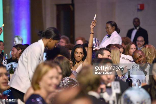 A view of the audience at the 13th Annual UNICEF Snowflake Ball 2017 at Cipriani Wall Street on November 28 2017 in New York City