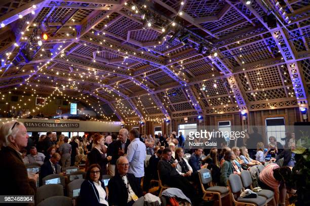 A view of the audience at the Screenwriters Tribute at the 2018 Nantucket Film Festival Day 4 on June 23 2018 in Nantucket Massachusetts