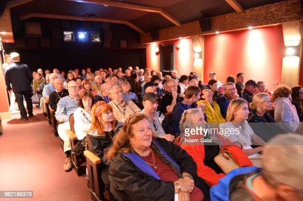 A view of the audience during the screening of 'The Price of Everything at the 2018 Nantucket Film Festival Day 4 on June 23 2018 in Nantucket...