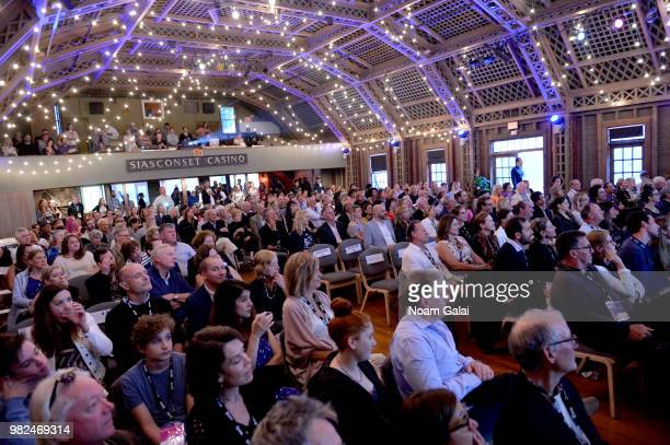 A view of the audience during the Screenwriters Tribute at the 2018 Nantucket Film Festival Day 4 on June 23 2018 in Nantucket Massachusetts