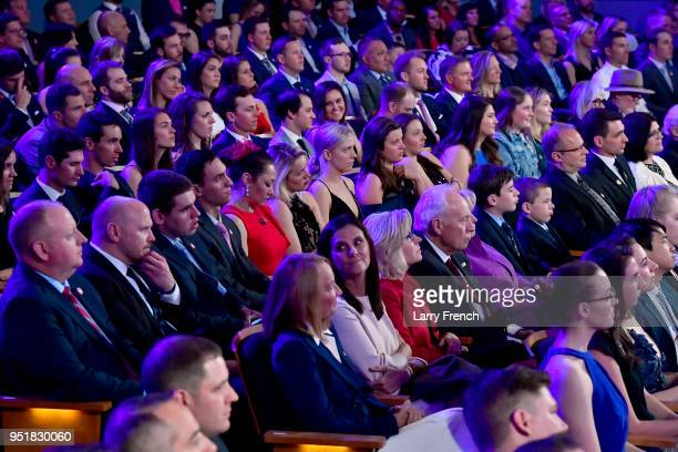A view of the audience during the Team USA Awards at the Duke Ellington School of the Arts on April 26 2018 in Washington DC