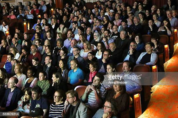 A view of the audience during Vulture Festival presents Sarah Silverman Friends at BAM on May 22 2016 in New York City