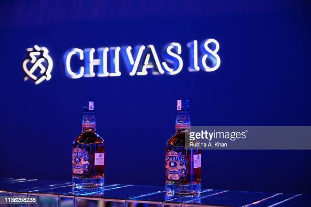 A view of the bar at Chivas 18 Alchemy 2019 on March 16 2019 in New Delhi India