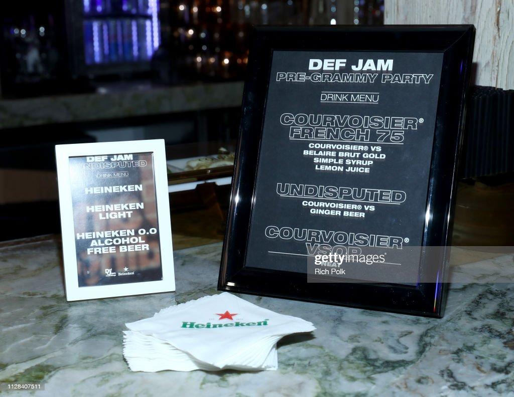 CA: Def Jam Pre-Grammy Party 2019