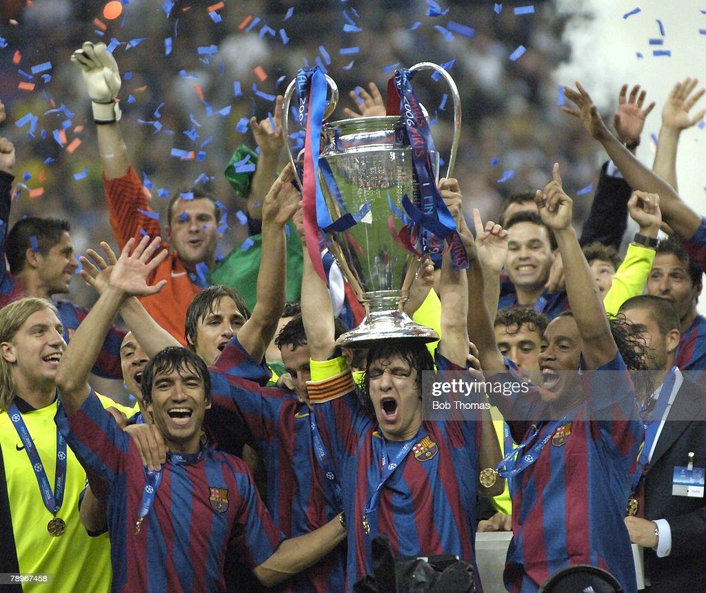 2006 UEFA Champions League Final : News Photo