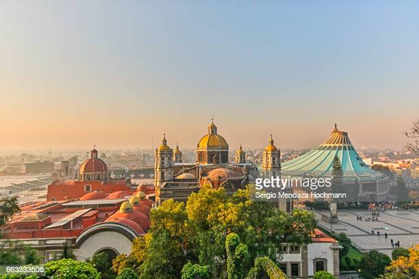 View of the Basilica of Our Lady of Guadalupe - Mexico City, Mexico