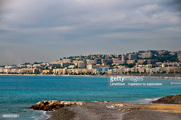 View of the bay in Nice, France