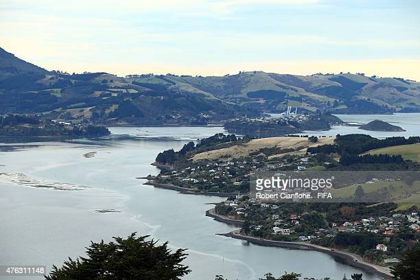 A view of the bay on June 8 2015 in Dunedin New Zealand