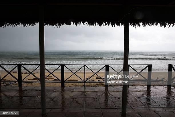 A view of the beach where the Dawei deep sea port is planned to be built on August 2 2015 in Nabule Myanmar The controversial multibillion dollar...