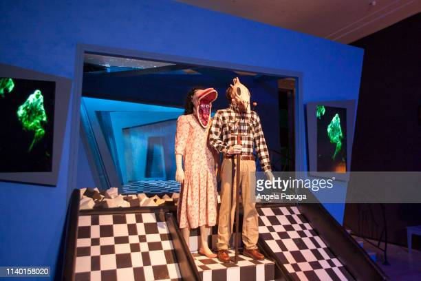 A view of the 'Beetlejuice' installation at Ultra Productions and Warner Bros Consumer Products Special Preview of 'I Like Scary Movies' an...