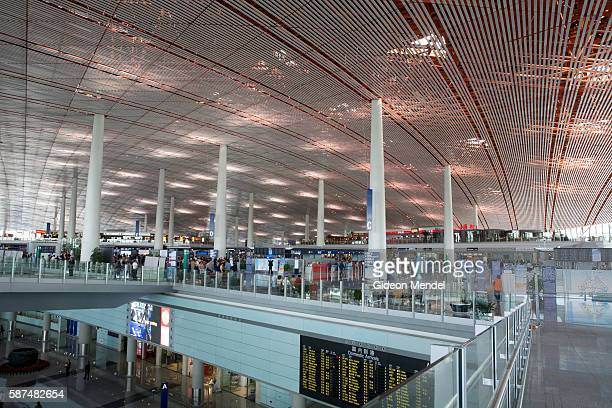 A view of the Beijing Capital International Airport It is the world's largest airport building and the centerpiece of China's multibilliondollar...