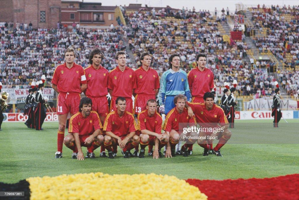 Belgium At 1990 FIFA World Cup : News Photo