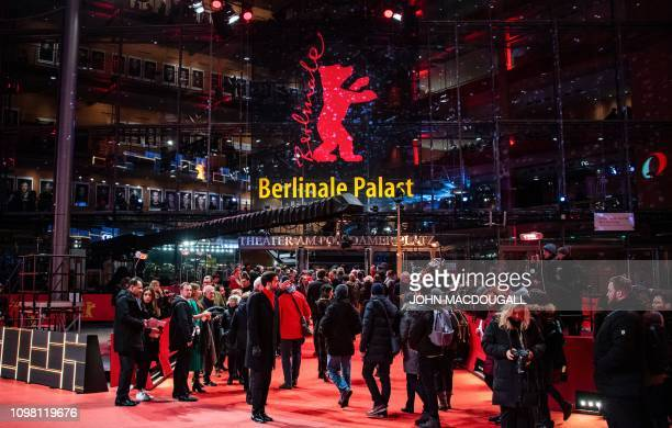 View of the Berlinale Palast the main venue of the 69th Berlinale film festival on February 11 2019 in Berlin The Berlin film festival will be...