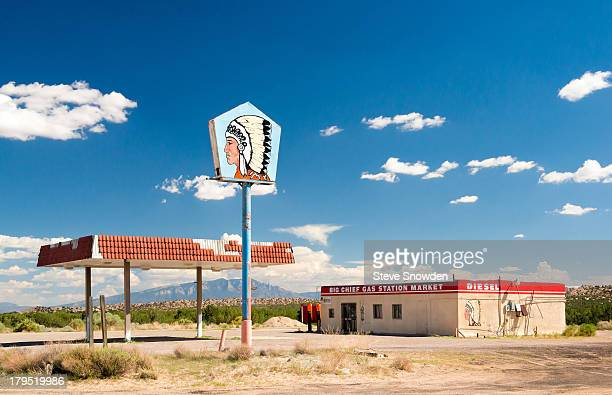 A view of the Big Chief Truck Stop on August 31 2013 in Albuquerque New Mexico Jesse Pinkman bartered meth for gasoline at the Big Chief Truck Stop...