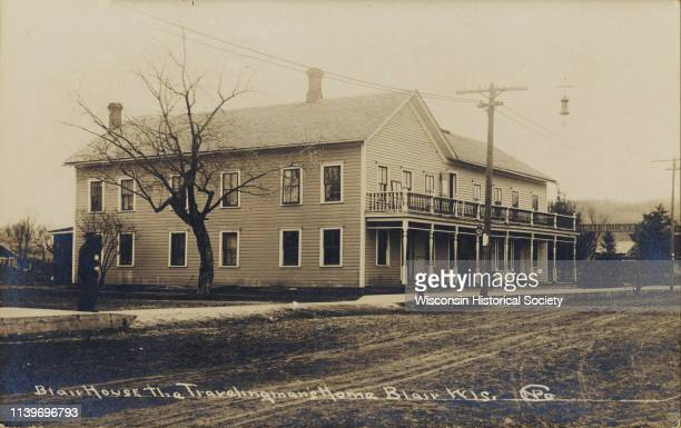 View of the Blair House Blair Wisconsin 1890