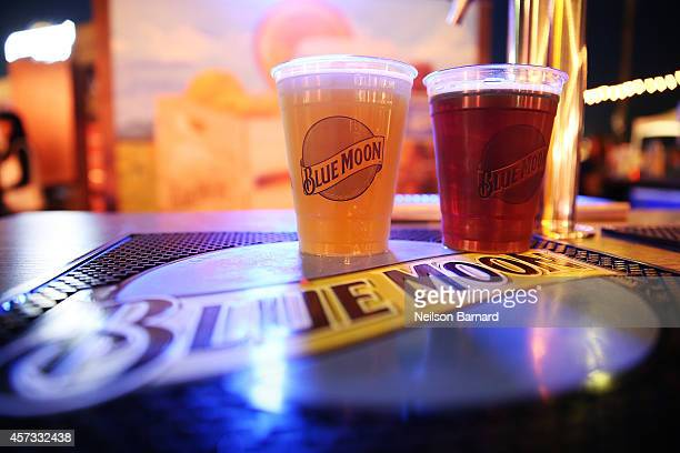 View of the Blue Moon beer station at Ronzoni's La Sagra Slices hosted by Bongiovi Brand pasta sauces Adam Richman presented by Time Out New York...