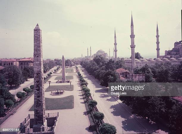 View of the Blue Mosque Istanbul Turkey