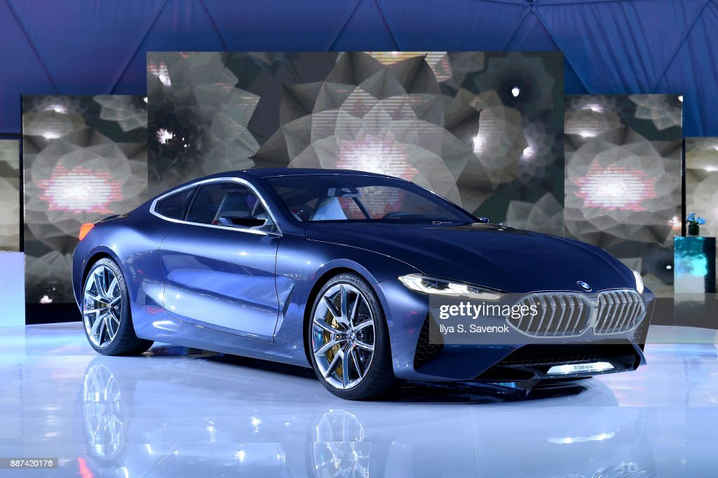 A view of the BMW Concept 8 Series at the World Premiere Of FRANCHISE FREEDOM - A Flying Sculpture By Studio Drift In Partnership With BMW at The Faena Art Dome on December 6, 2017 in Miami, Florida.