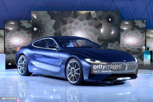 A view of the BMW Concept 8 Series at the World Premiere Of FRANCHISE FREEDOM A Flying Sculpture By Studio Drift In Partnership With BMW at The Faena...