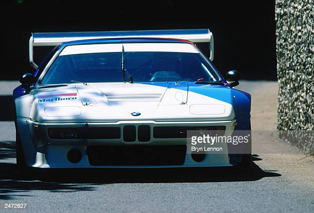 A view of the BMW M1 Procar during the Goodwood Festival of Speed on July 13 2003 at Goodwood House in Chichester England