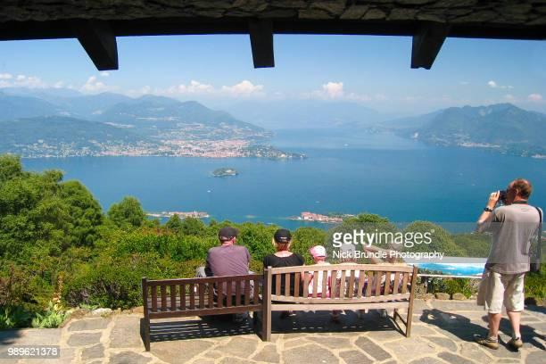 View of the Borromean Islands, Isola Bella - Lake Maggiore, Italy, Stresa