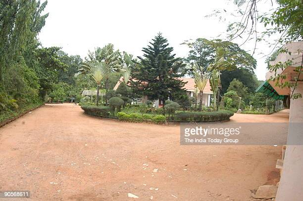 View of the Botanical Garden of Horticultural Department at Chennai in Tamil Nadu India