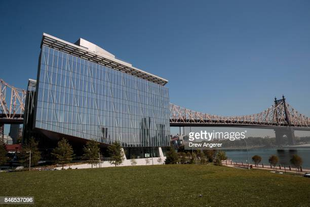 A view of 'The Bridge' building on the new campus of Cornell Tech on Roosevelt Island September 13 2017 in New York City Seven years ago former New...
