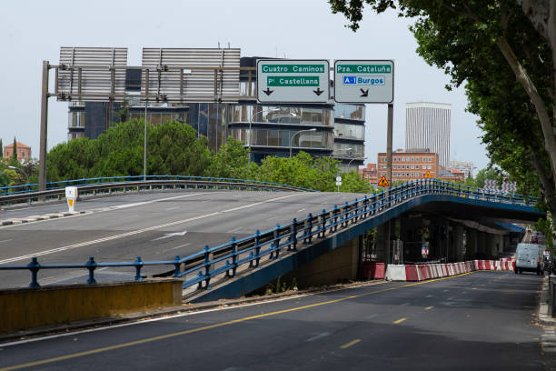 ESP: Madrid Closes An Overpass At The Risk Of Collapse
