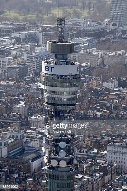 View of the BT tower, London