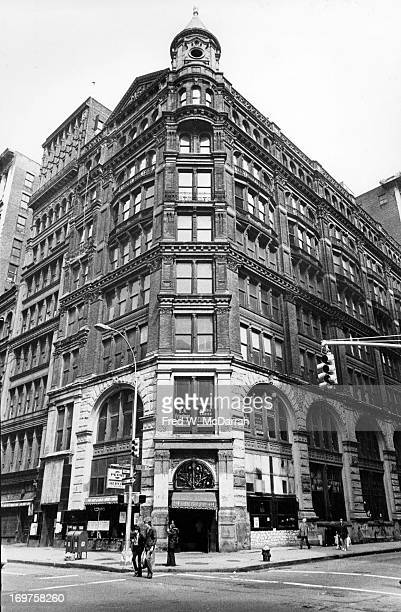 View of the building at 644 Broadway on the southeast corner of Broadway Bleeker Street New York New York April 24 1978 The building along with the...