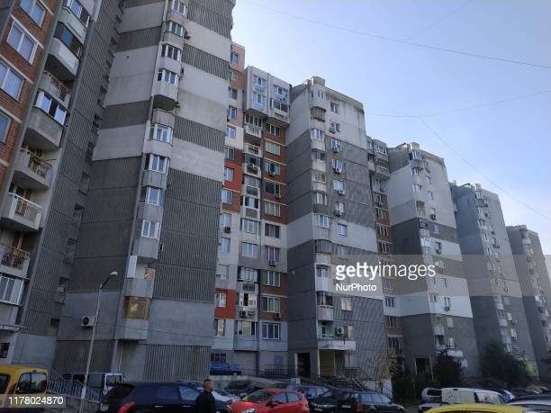 A view of the building in the Black sea Bulgarian town of Varna east of the capifal Sofia where is located the office of company owned the truck...