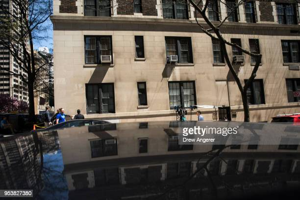 A view of the building that houses the office of Dr Harold Bornstein who was previously President Donald Trump's longtime personal physician May 2...