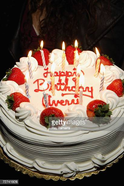 View of the cake during Avery Storm's birthday party at Kush on December 05 2006 in New York City