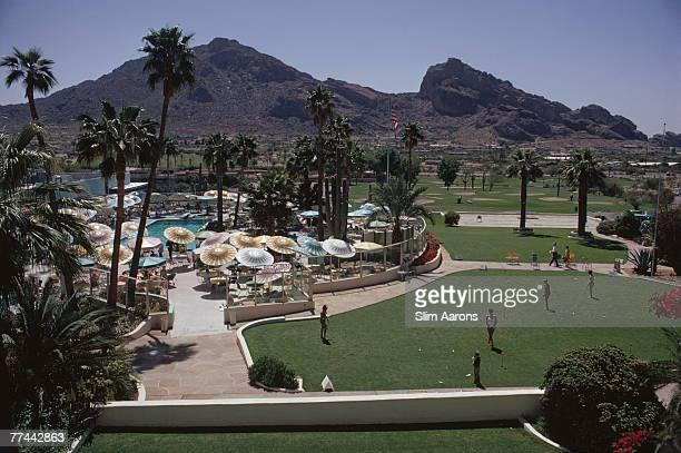 A view of the Camelback Inn Scottsdale Arizona April 1967