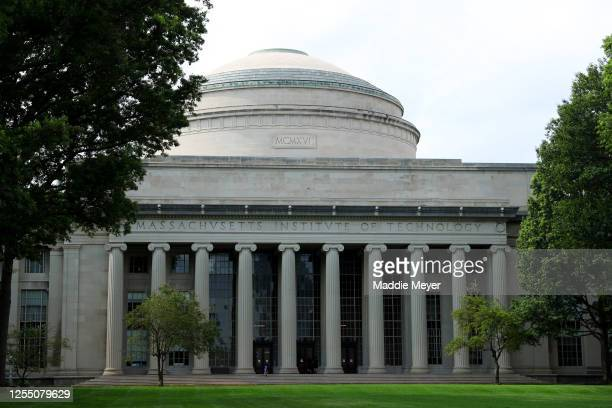 View of the campus of Massachusetts Institute of Technology on July 08, 2020 in Cambridge, Massachusetts. Harvard and MIT have sued the Trump...