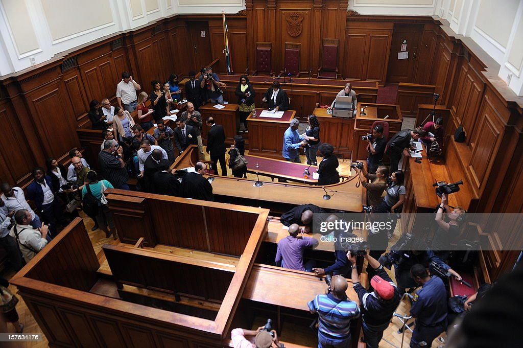 View of the Cape Town High Court on December 5, 2012 in Cape Town, South Africa. Xolile Mngeni was sentenced to life in prison for the murder of Anni Dewani.