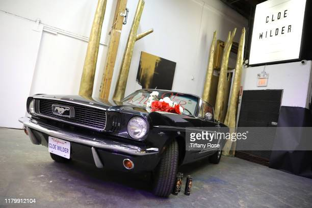 View of the car during Cloe Wilder's Save Me music video premiere party on October 08 2019 in Los Angeles California