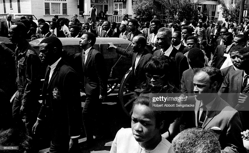 Dr. King's Funeral Procession : News Photo