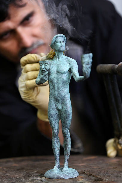what is the sag award statue made of