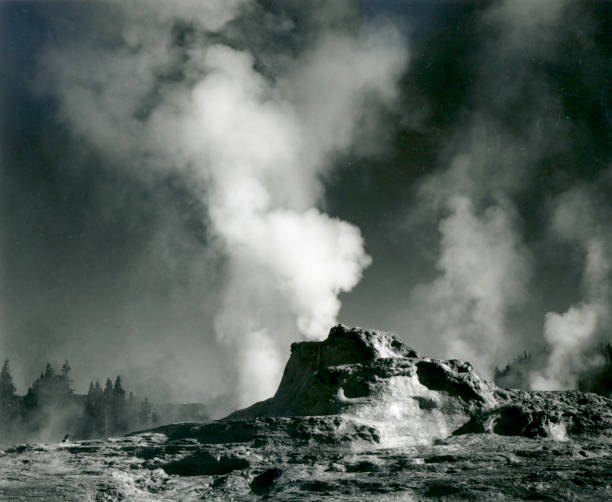 'Castle Geyser Coye, Yellowstone National Park'