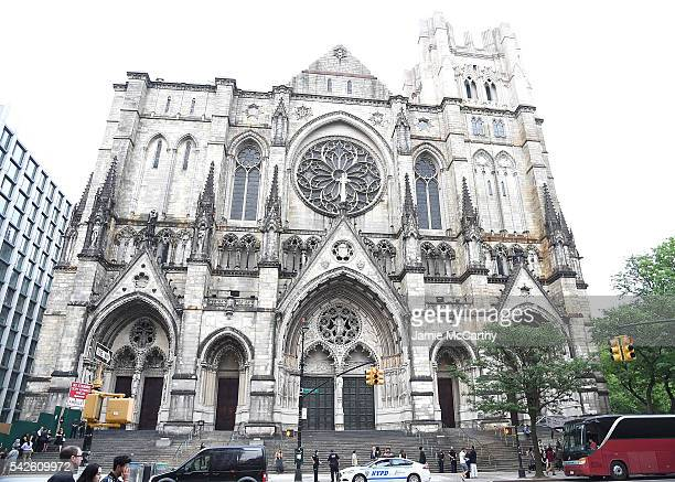 A view of the cathedral exterior at the 2016 Logo's Trailblazer Honors at Cathedral of St John the Divine on June 23 2016 in New York City