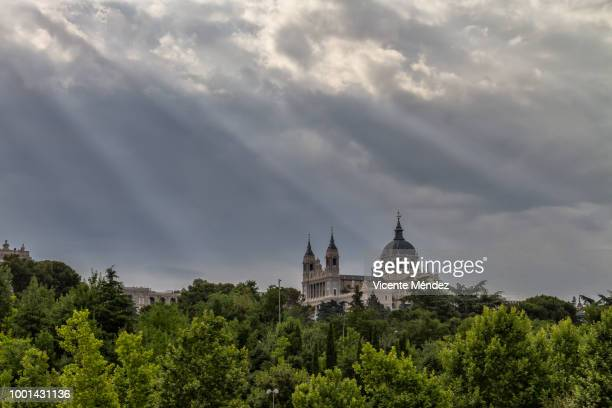 View of the Cathedral of La Almudena